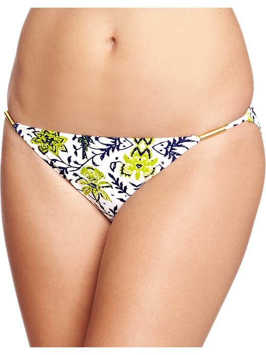Old Navy Women's Floral Print String Bikinis - Floral bottom - Old Navy Canada