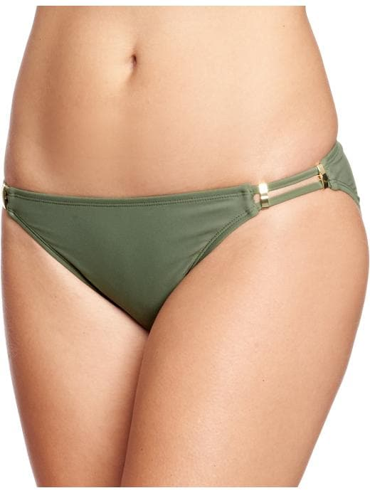 Old Navy Women's Double Strap String Bikinis - Green - Old Navy Canada