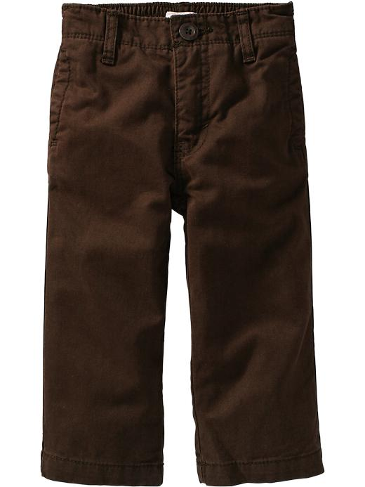 Old Navy Twill Chinos For Baby - Dark chocolate - Old Navy Canada