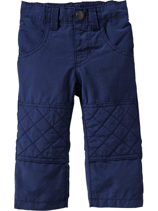 Old Navy Quilted Knee Poplin Pants For Baby - Goodnight nora
