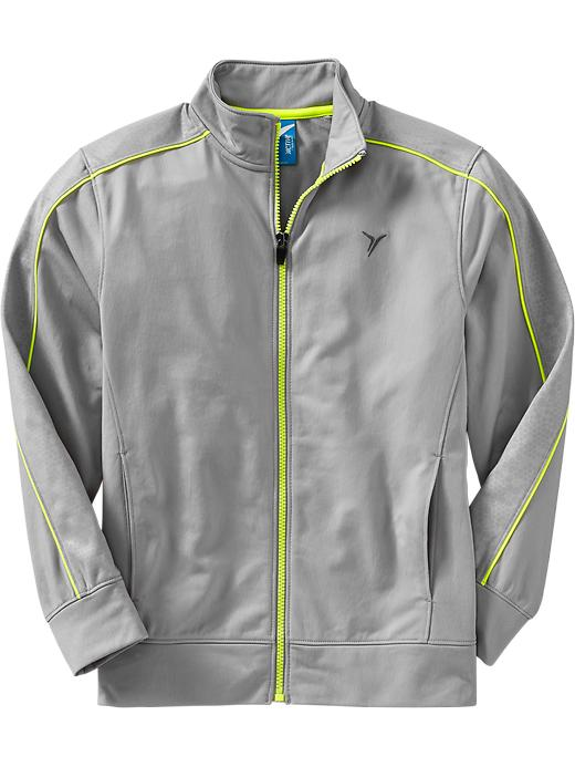 Boys Active By Old Navy Track Jackets - Grayscale - Old Navy Canada