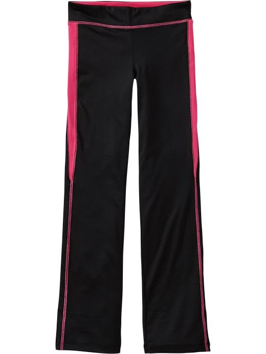 Girls Active By Old Navy Compression Pants - Hot to it neon poly - Old Navy Canada