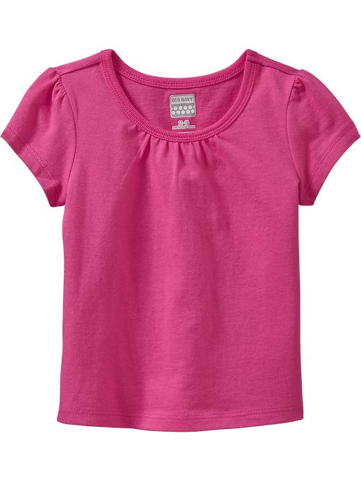 Old Navy Crew Neck Tees For Baby - In the pink - Old Navy Canada