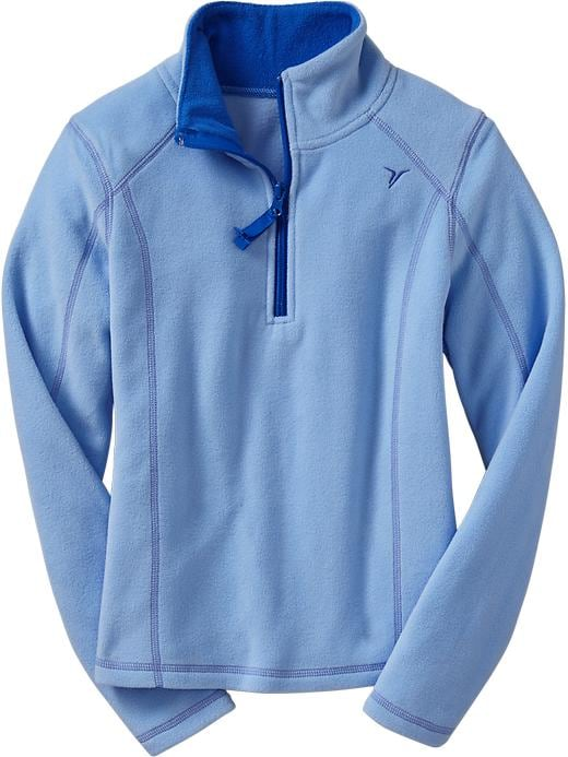 Girls Active By Old Navy Performance Fleece Pullovers - Cooler than blue - Old Navy Canada
