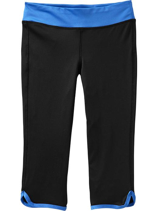 Girls Active By Old Navy Capri Leggings - Cooler than blue - Old Navy Canada