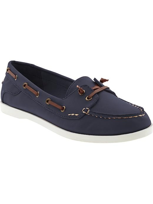 Old Navy Women's Sueded Boat Shoes - Navy - Old Navy Canada