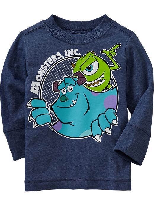 Old Navy Disney/Pixar Monsters, Inc. Tees For Baby - Navy heather