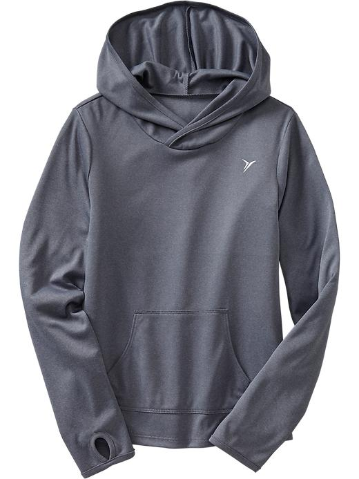 Girls Active By Old Navy Lightweight Hooded Tops - Storm front - Old Navy Canada