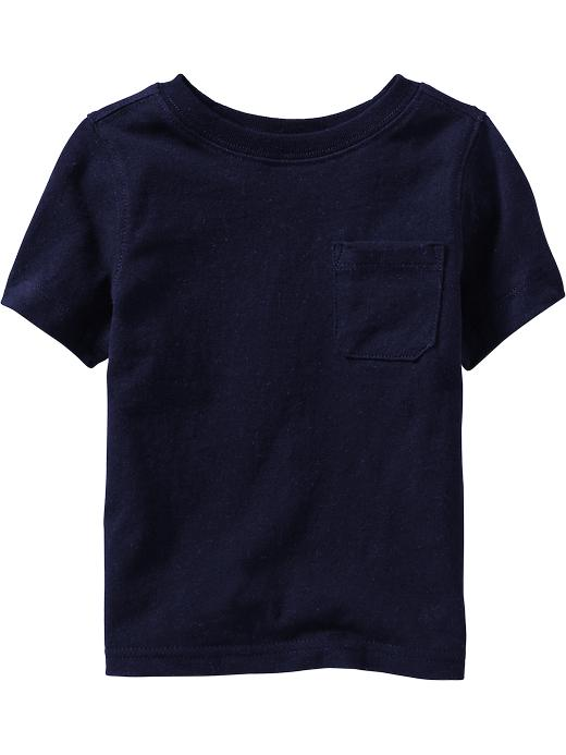 Old Navy Chest Pocket Tees For Baby - In the navy - Old Navy Canada