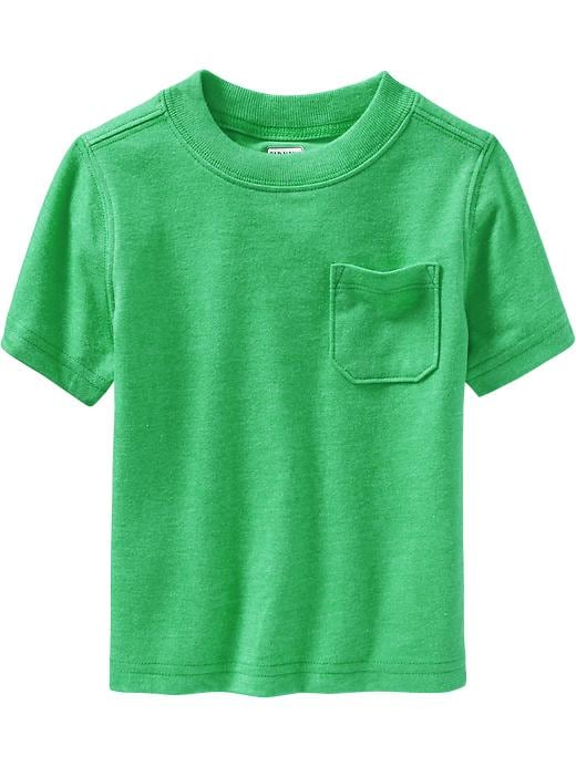 Old Navy Chest Pocket Tees For Baby - Beach cruiser green - Old Navy Canada