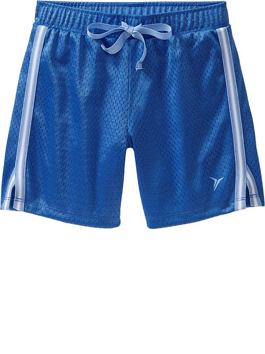 Girls Active By Old Navy Mesh Shorts - Color me blue - Old Navy Canada