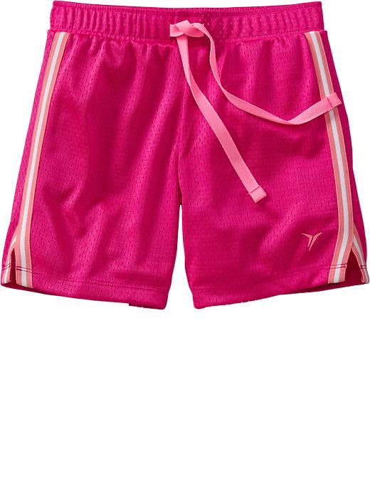 Girls Old Navy Active Mesh Shorts - Flmng a go go neo poly - Old Navy Canada