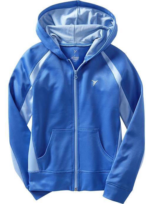 Girls Active By Old Navy Hooded Track Jackets - Color me blue - Old Navy Canada