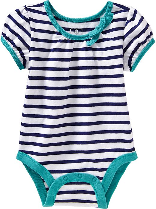 Old Navy Printed Bodysuits For Baby - Navy stripe - Old Navy Canada