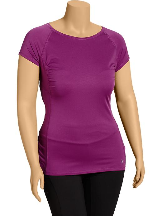 Women's Plus Active By Old Navy Running Tops - Cambridge purple poly - Old Navy Canada