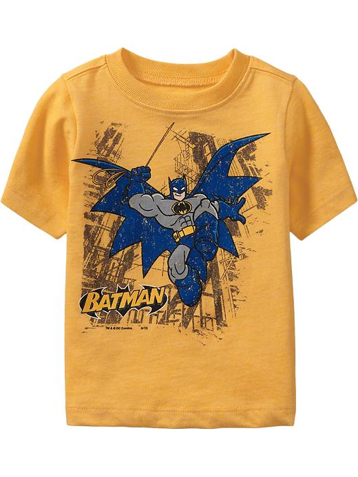 Old Navy Dc Comics Batman Tees For Baby - Heather yellow
