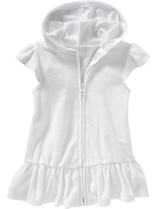 Old Navy Loop Terry Swim Cover Ups For Baby - Calla lilly