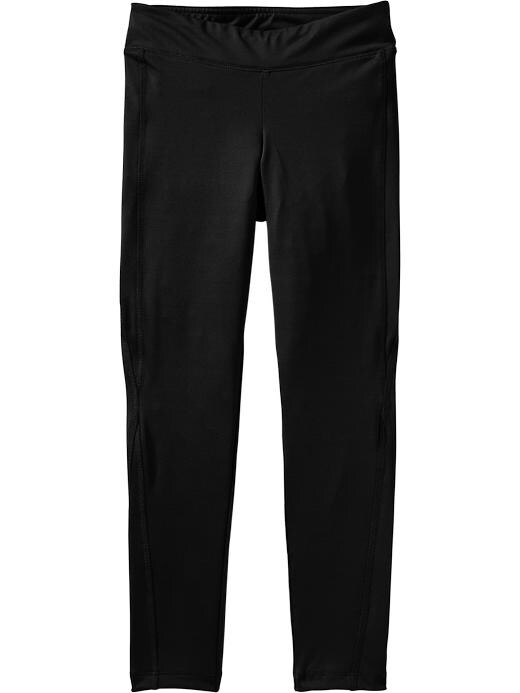 Girls Active By Old Navy Compression Leggings - Black jack - Old Navy Canada