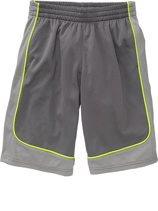 Boys Active By Old Navy Basketball Shorts - Gray stone - Old Navy Canada