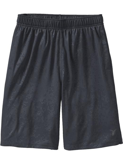 "Men's Active By Old Navy Embossed Tricot Shorts (9"") - Volcanic ash - Old Navy Canada"