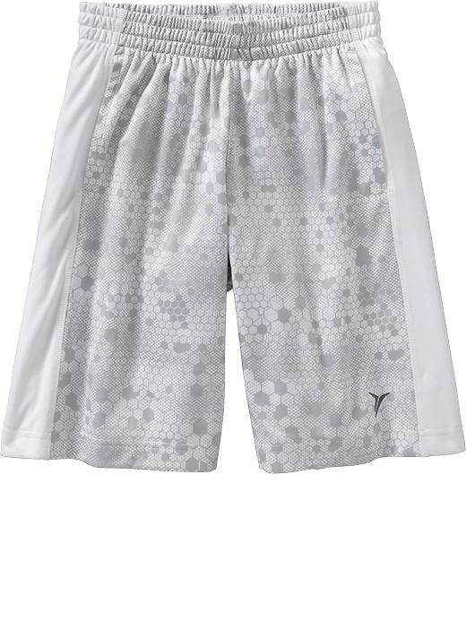 "Boys Active By Old Navy Tricot Shorts (9"") - Bright white - Old Navy Canada"