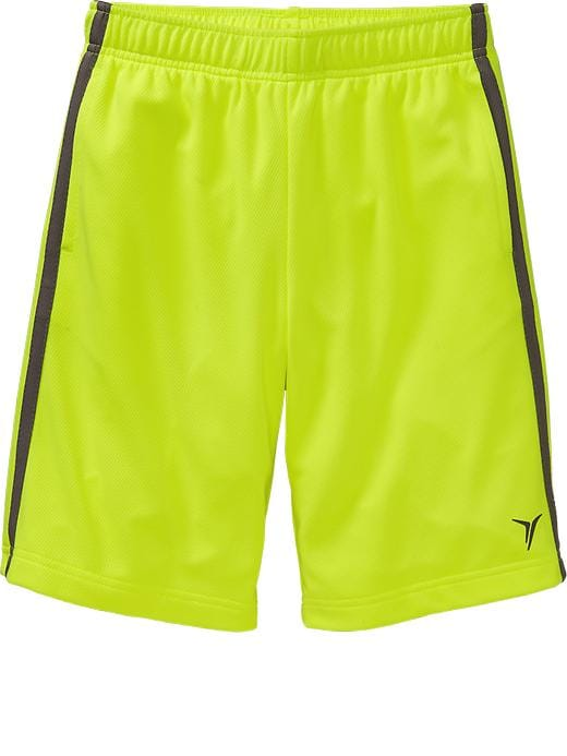 Boys Active By Old Navy Mesh Shorts - Electric neon - Old Navy Canada