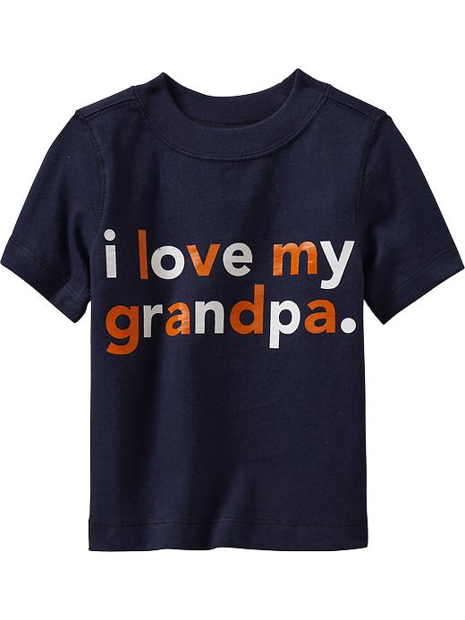 "Old Navy ""i Love My Grandpa"" Tees For Baby - Goodnight nora - Old Navy Canada"