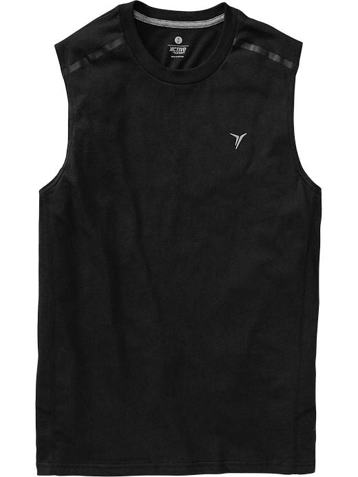 Men's Active By Old Navy Godry Muscle Tees - Black jack 2 - Old Navy Canada
