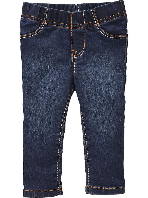 Old Navy Dark Wash Pull On Jeggings For Baby - Dark wash - Old Navy Canada