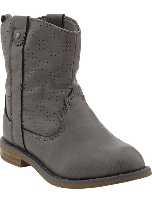 Old Navy Western Style Boots For Baby - Grayscale - Old Navy Canada