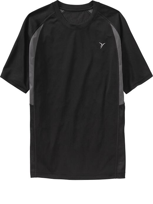 Men's Active By Old Navy Performance Tops - Black jack - Old Navy Canada