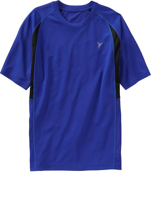 Men's Active By Old Navy Performance Tops - Blue bloods polyester - Old Navy Canada