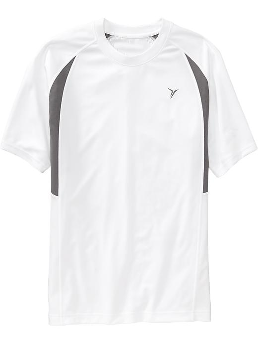 Men's Active By Old Navy Performance Tops - Bright white - Old Navy Canada