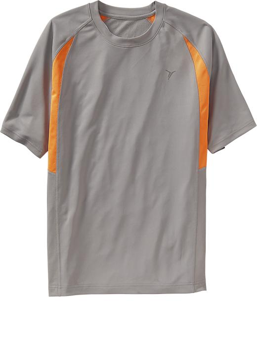 Men's Active By Old Navy Performance Tops - Grayscale - Old Navy Canada