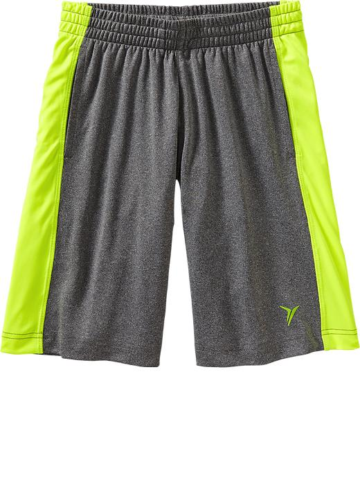"Boys Active By Old Navy Tricot Shorts (9"") - Drkhthrg - Old Navy Canada"