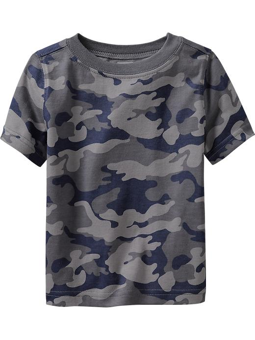 Old Navy Short Sleeve Patterned Tees For Baby - Gray camouflage - Old Navy Canada