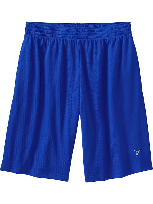"Men's Active By Old Navy Mesh Shorts (10"") - Blue bloods polyester - Old Navy Canada"