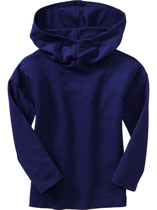 Old Navy Girls Funnel Neck Hooded Pullovers - Bright nite 335