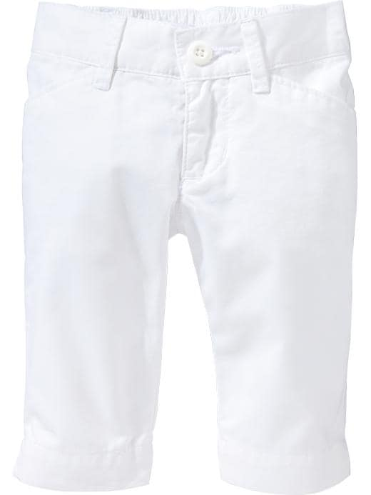 Old Navy Twill Capris For Baby - Calla lilly - Old Navy Canada
