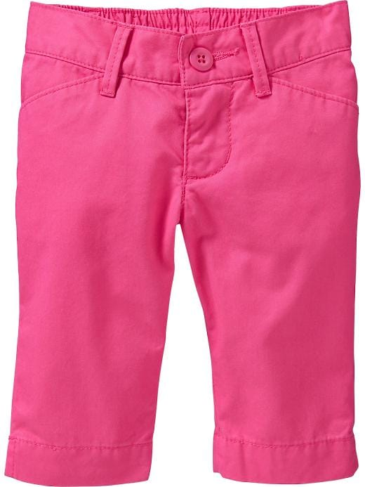 Old Navy Twill Capris For Baby - In the pink - Old Navy Canada