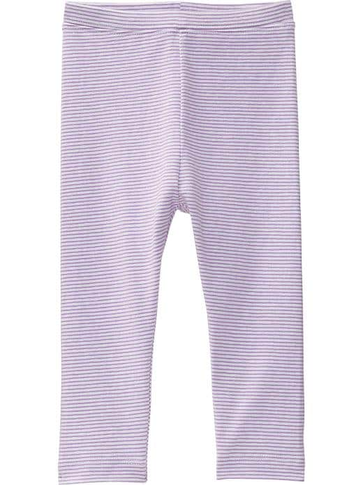 Old Navy Printed Jersey Leggings For Baby - Purple stripe - Old Navy Canada