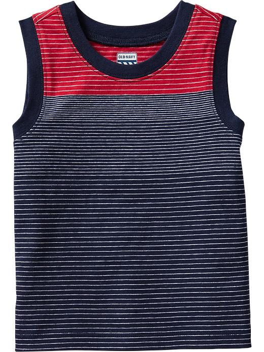 Old Navy Striped Muscle Tees For Baby - Robbie red - Old Navy Canada