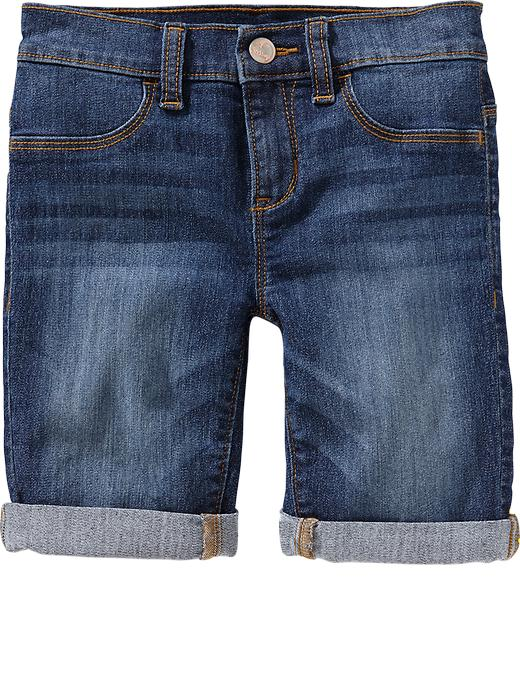 Old Navy Girls Denim Bermudas - Dark wash