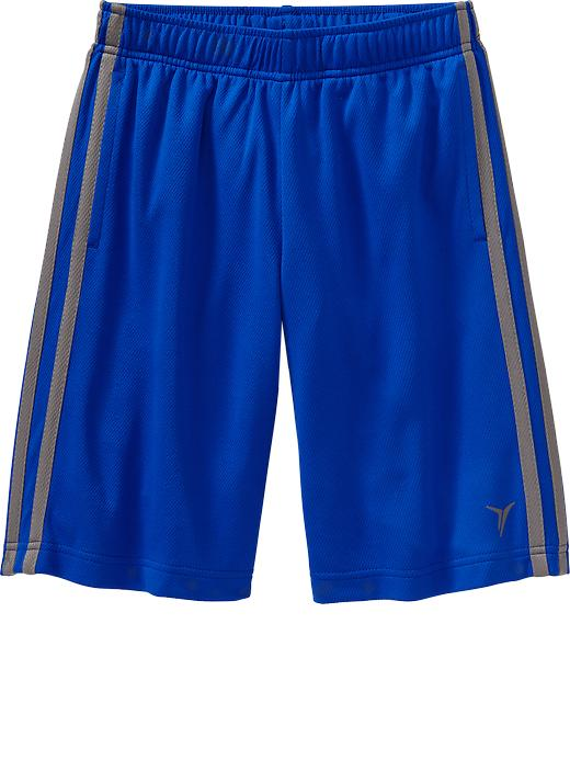Boys Active By Old Navy Mesh Shorts - Blue bloods polyester - Old Navy Canada