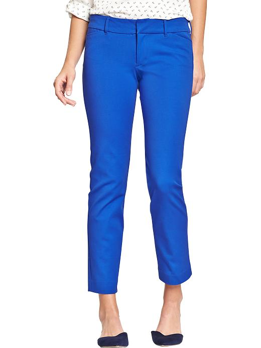Old Navy Women's The Pixie Skinny Ankle Pants - Just blue it - Old Navy Canada