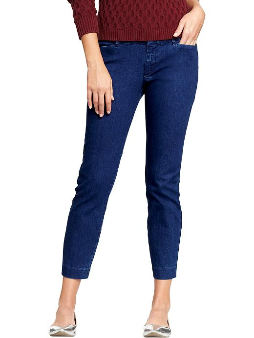 Old Navy Women's The Diva Skinny Ankle Jeans - Medium wash - Old Navy Canada
