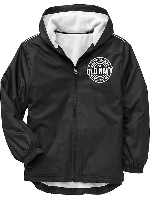 Boys Active By Old Navy Windbreakers - Black - Old Navy Canada