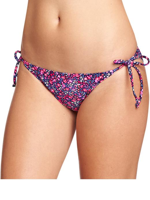 Old Navy Women's Mix & Match String Bikini Bottoms - Warm floral - Old Navy Canada