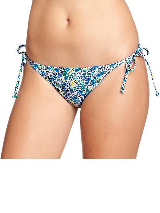 Old Navy Women's Mix & Match String Bikini Bottoms - Cool floral - Old Navy Canada
