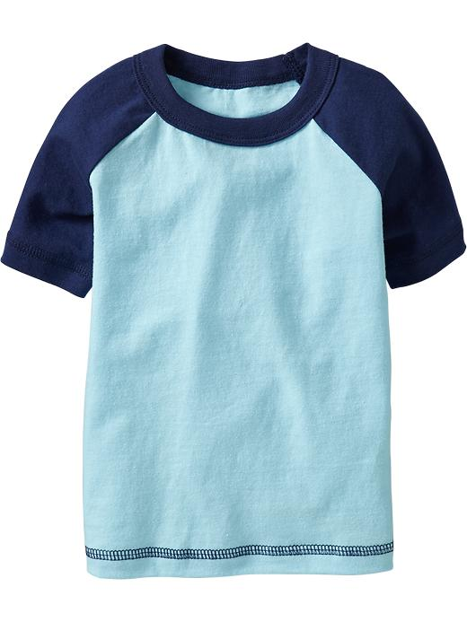 Old Navy Color Blocked Raglan Tees For Baby - Surfing